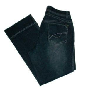 Venezia I Women's Plus Dark Denim Jeans Size: 18